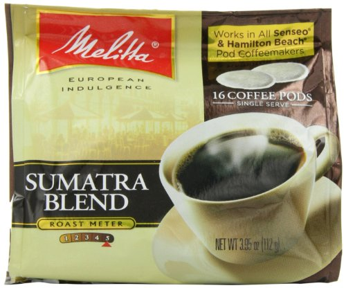 Melitta Coffee Pods for Senseo and Hamilton Beach Pod Brewers, Assortment (Pack of 4)