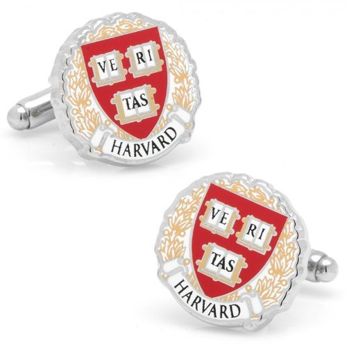 NCAA Mens Harvard University Cufflinks