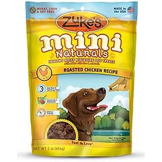 Zukes Mini Natural Chicken Dog Training Treats