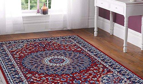 tappeto-motivo-classico-persiano-tappeto-economico-rosso-royal-shiraz-2082-red-140x210