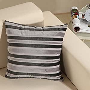 Silver Decorative Bed Pillows : Amazon.com - Silver Gray Colored Corduroy Square Sofa Home Bed Decorative Throw Pillow Case ...