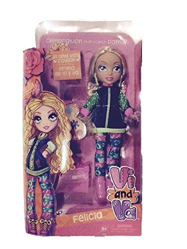 """Vi and Va FELICIA Cousin 9"""" Doll"""