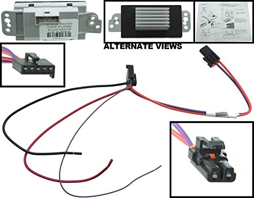 apdty-112822-blower-motor-resistor-speed-control-upgrade-module-auto-temp-control-2003-2009-hummer-h