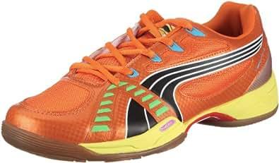 Puma Vibrant Vi Tricks, Chaussures sports en salle homme, Orange / Jaune, 47