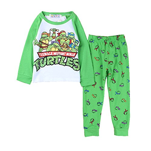 EITC Little Boys' Mutant Ninja Turtles Cotton Sleepwear