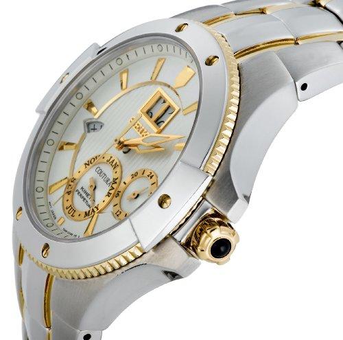 Seiko Men's SNP008 Coutura Kinetic Perpetual Watch