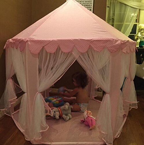princess castle play tent by sid trading fairy princess castle new ebay. Black Bedroom Furniture Sets. Home Design Ideas