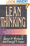 """Lean Thinking : """" Banish Waste And Cr..."""