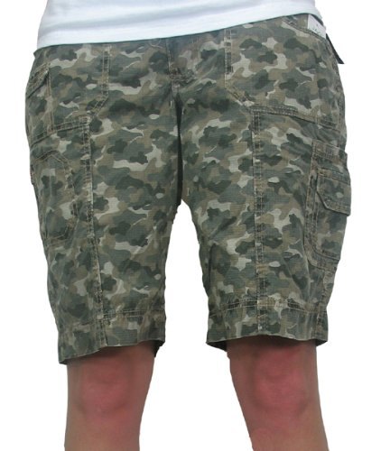 Women's Aurora Cargo Short in Green by Jag Jeans