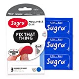 Sugru Mouldable Glue - 3 BLUE (Pack of 3)