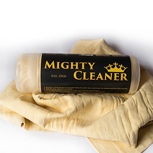 XL Absorber Shammy Cloth - Hi Performance Chamois Car Towel - Synthetic Chamois Leather Towel For Home - Mighty Cleaner (Window Tint Scratch Remover compare prices)