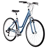 Diamondback 2013 Women's Vital Two Sport Hybrid Bike with 700c Wheels  (Blue, 17-Inch/Medium)