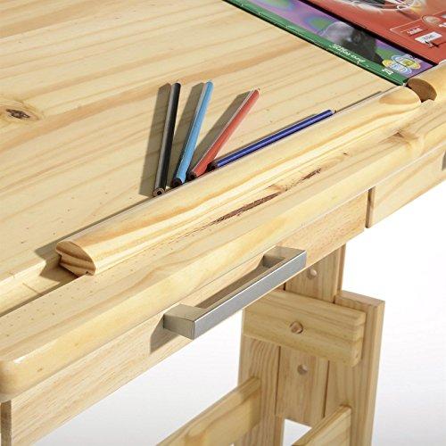 Schreibtisch kiefer h henverstellbar com forafrica for Kiefer arbeitsplatte