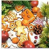 Paper+Design ペーパーナフキン クリスマス クッキー