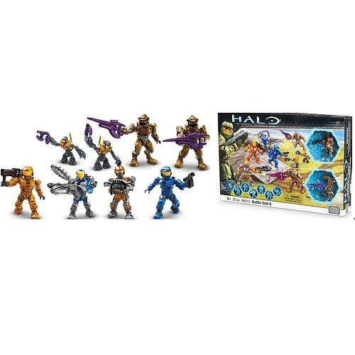 Buy Low Price Mega Brand Halo Wars Mega Bloks Exclusive Set #96915 Battle Unit II 8 Mini Figures! (B004VYNHZQ)