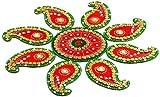 Aapno Rajasthan Handmade Floral Floor Art