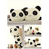 Stuffed Plush Doll Toy Animal Giant 70CM Cute Panda Pillow Bolster Gift New by LITTLESTONE (Tamaño: 17.7 inches)