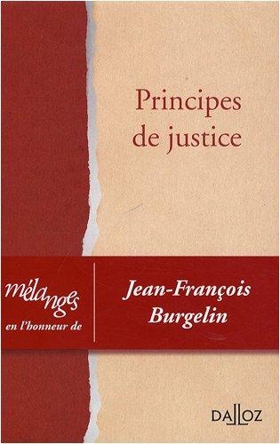 Principes de justice (French Edition)