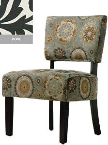 """Vincent Retro Chair, 21""""x23"""", DOVE"""