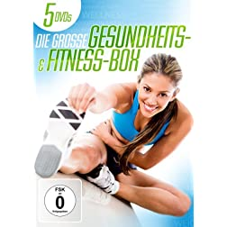 Die gro&szlig;e Gesundheits- und Fitness-Box [5 DVDs]