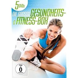 Die große Gesundheits- und Fitness-Box [5 DVDs]