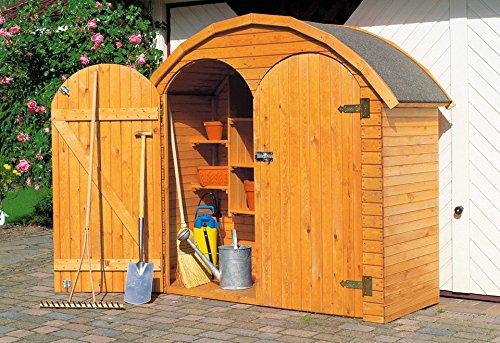 Kinderspielhaus Holz Greenseason ~ Geräteschrank ROMA, 2 türig  (358 43)