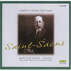 SAINT-SAENS:Complete Piano Works