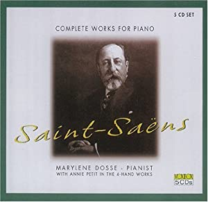 Saens: Complete Works for Piano