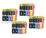 20-Pack Non-OEM Inkjet Combo for