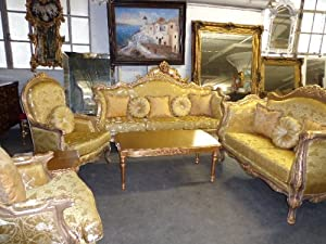 Italian 7 Piece Living Room Set