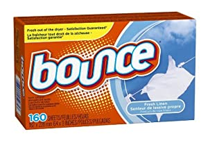 Bounce Dryer Sheets, Fresh Linen, 640 SHEETS