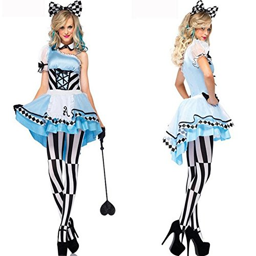 Ai&M Alice in Wonderland fantasy role -playing maid outfit cosplay Halloween performance clothing