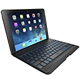 Zagg Zaggkeys Folio Black Hinged Tablet Case and Back-Lit Bluetooth Keyboard for iPad Air / iPad 5