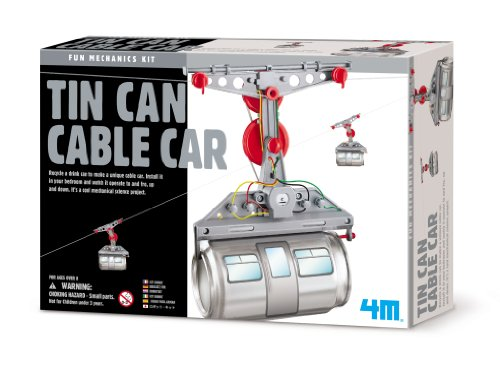 4M Tin Can Cable Car (Soda Can Kit compare prices)