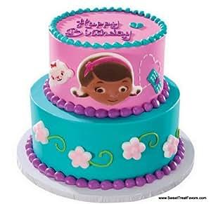 Doc Mcstuffins Cake Topper Edible Decoration Party: Amazon ...