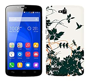 TrilMil Printed Designer Mobile Case Back Cover For Huawei Honor Holly