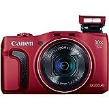 Canon PowerShot SX700 HS Digital Camera (Red)
