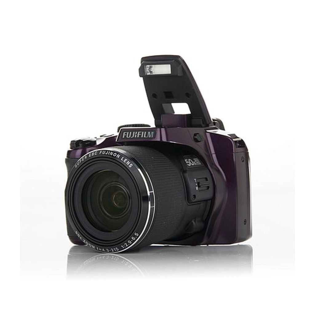 Fujifilm S9950W - 16MP Wi-Fi 50X Optical Zoom Full HD Video - Purple (Certified Refurbished)