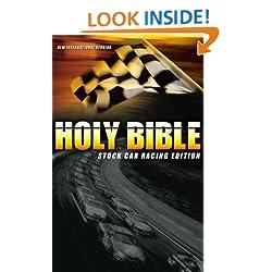 Funny product Holy Bible: Stock Car Racing