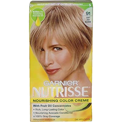 Best Cheap Deal for Garnier Nutrisse Haircolor, 91 Light Ash Blonde Ginger Ale from Garnier Hair Color - Free 2 Day Shipping Available