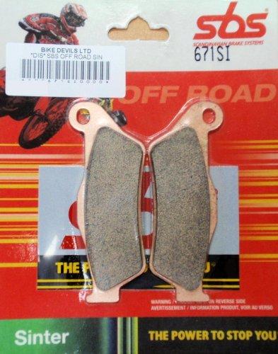 SBS OFF ROAD SINTERED BRAKE PADS SBS671SI