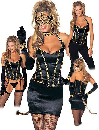 Wild Cat - Women's Cat Sexy Halloween Costumes