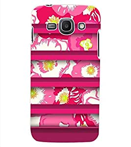 ColourCraft Floral Design Back Case Cover for SAMSUNG GALAXY ACE 3 3G S7270