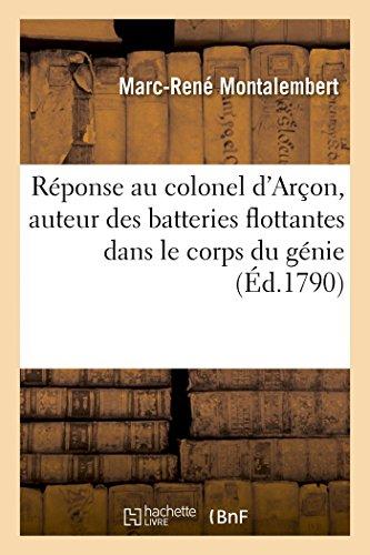 reponse-au-colonel-darcon-auteur-des-batteries-flottantes
