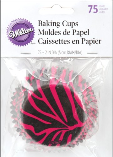 Standard Baking Cups-Zebra Pink 75/Pkg - Wilton-Baking Cups. Cupcakes And Muffins Get All Dressed Up With These Fun And Festive Baking Cups! Each Package Contains Seventy- Five Standard (2 Inch) Pape