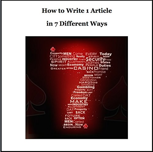 How to write an english article
