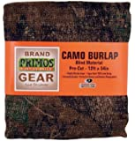 Primos Camo Burlap Blind Material - Pre-Cut Mossy Oak New Break-Up