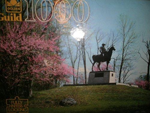 Gettysburg Pa Golden Guild 1000 interlocking puzzle - 1