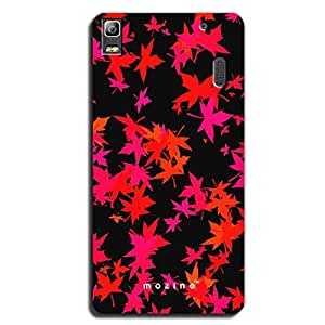 Mozine Maple Pattern printed mobile back cover for Lenovo k3 note