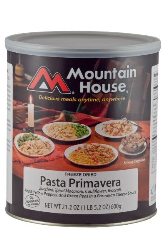 Mountain House #10 Can Pasta Primavera (11 - 1 cup servings) image